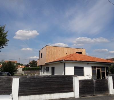 Extension maison à Cadaujac