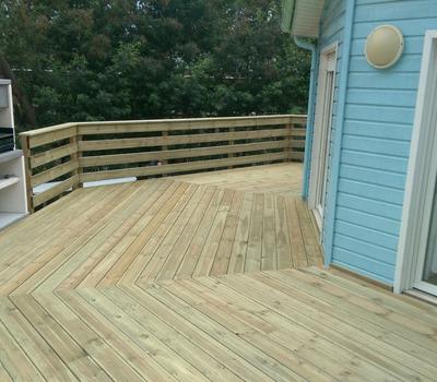 CRB réalise la création de terrasse à Villenave d'Ornon